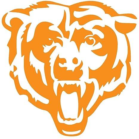 Chicago bears vinyl. Sticker decal x orange