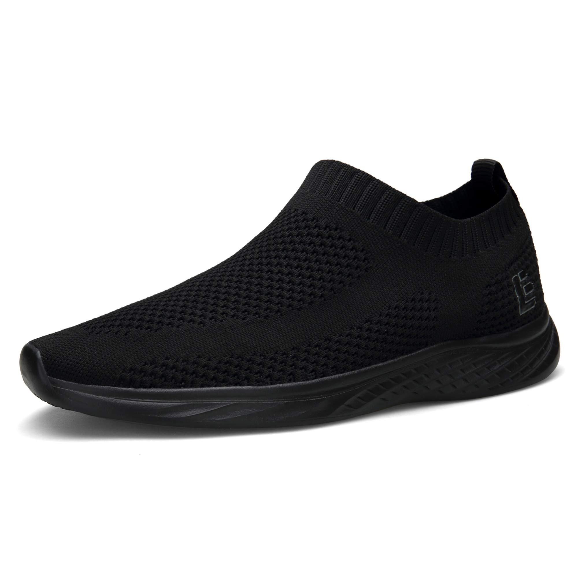 EAST LANDER Walking Shoes for Men and Women Flyknit Slip-on Sneakers Light Athletic Shoes SPT003-U2-41