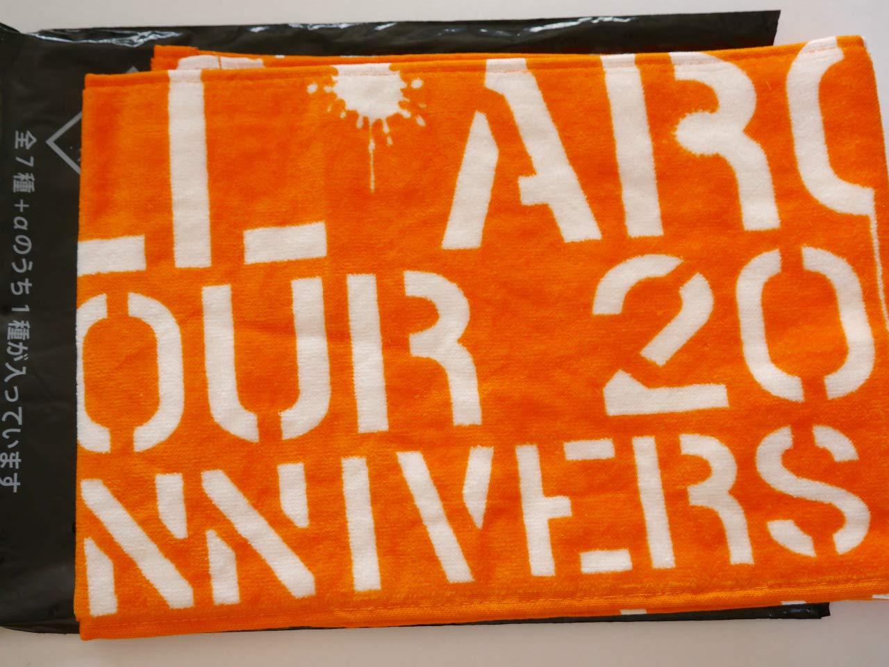 AAA   ATTACK ALL AROUND ARENA TOUR 2015  マフラータオル 西島隆弘 橙 オレンジ   B00X52O6LO
