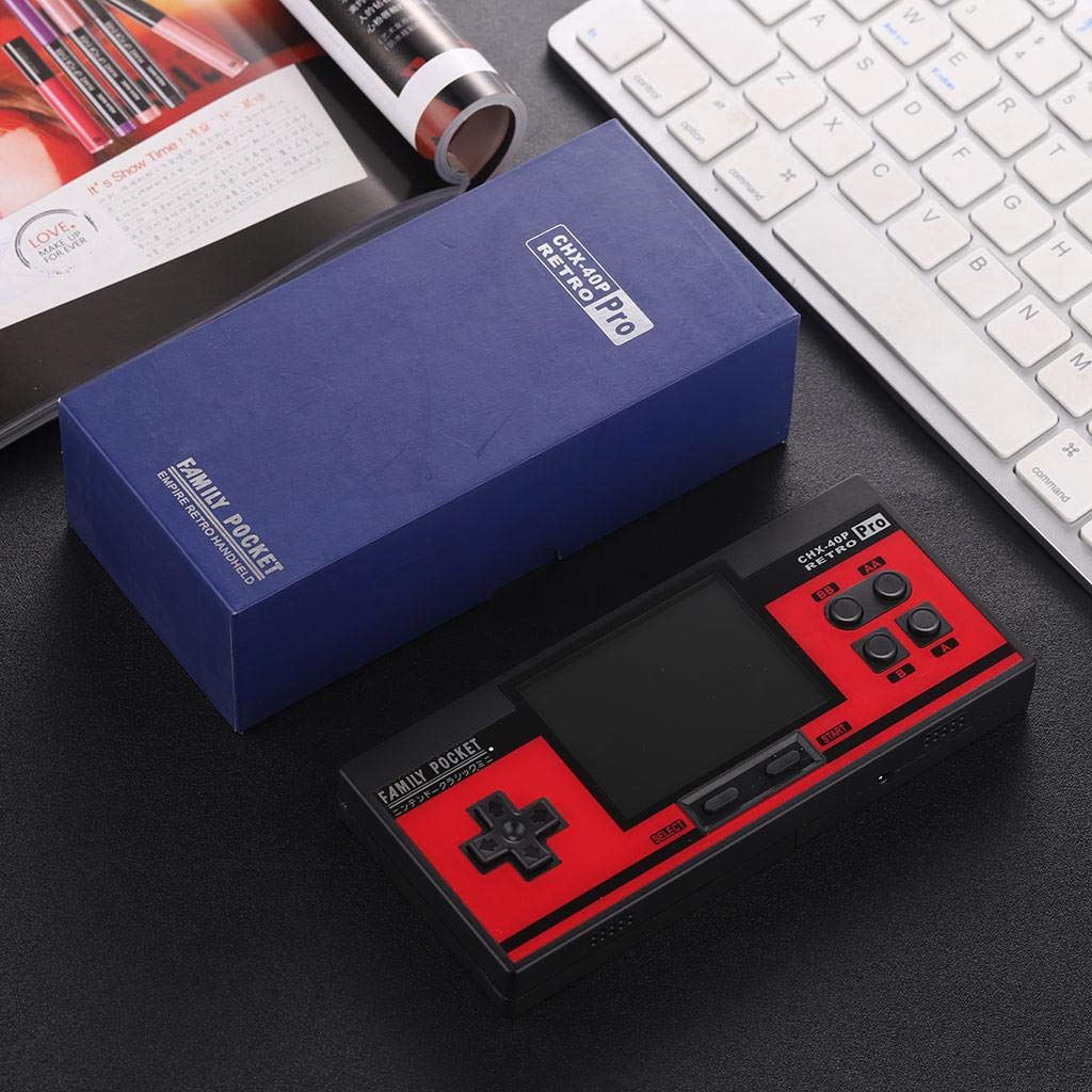 Built in 638 Games 8 Bit Game Console,Hongxin Retro Portable Handheld Family Pocket Game Player (Red) by Hongxin-Game Console (Image #5)