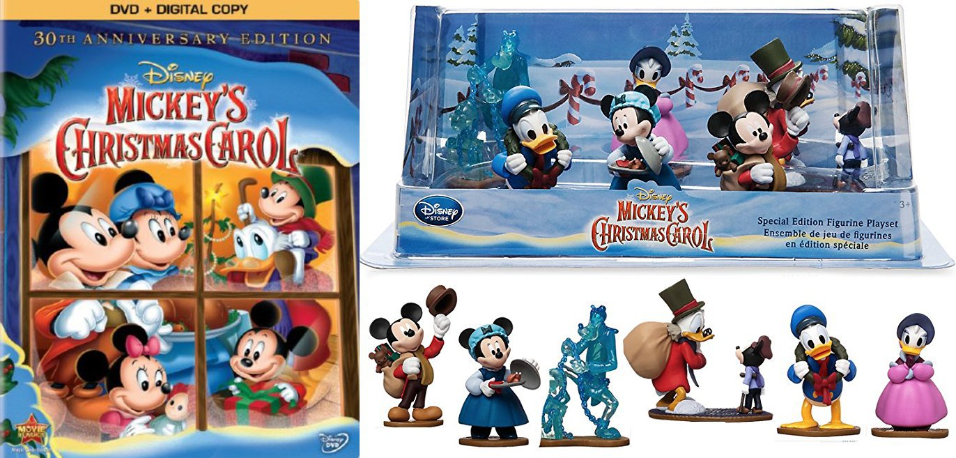 Mickeys Christmas Carol Dvd.Amazon Com Disney Holiday Mickey S Christmas Carol