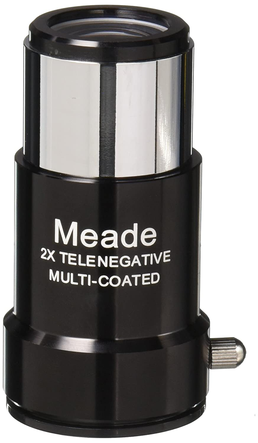 Meade Instruments #126 1.25-Inch 2x Short-Focus Barlow Lens 727300