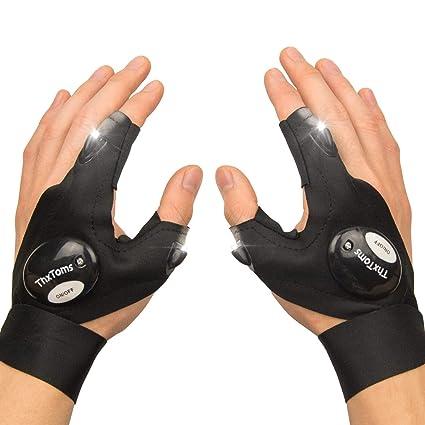 0432d4b2dc53ba Amazon.com  ThxToms LED Flashlights Gloves