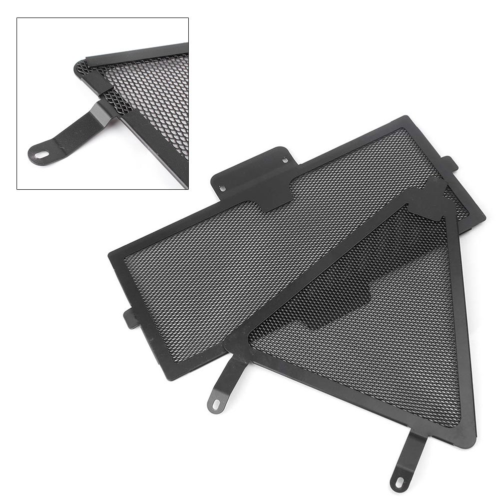 GZYF Motorcycle Radiator Grille Cover Protector Guard Fits Ducati 899 959 1199 1299