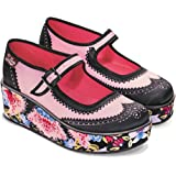 Hot Chocolate Design Chocolaticas Habana Flower Women's Mary Jane Platform