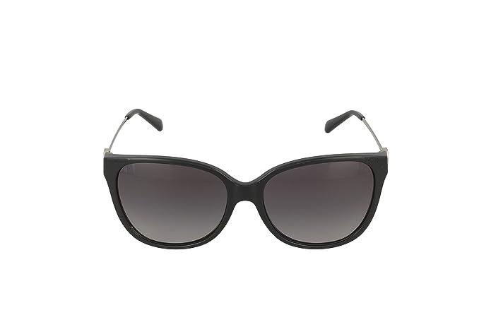 59c1ceb056a9 Amazon.com: Michael Kors Marrakesh Sunglasses MK6006 3005T3 Black Grey  Gradient Polarized 57 16 140: Shoes