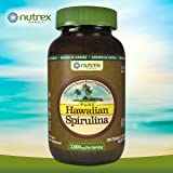 Pure Hawaiian Spirulina pacifica 3,000 mg., 360 Tablets by Nutrex Hawaii