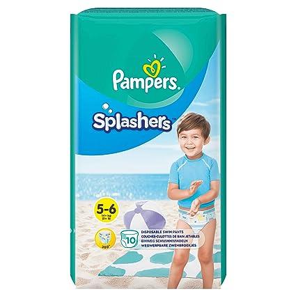 Pampers Splashers Einweg-Schwimmhose - Größe 5/6 (14kg +) - Fall von 8 Packungen zu 10