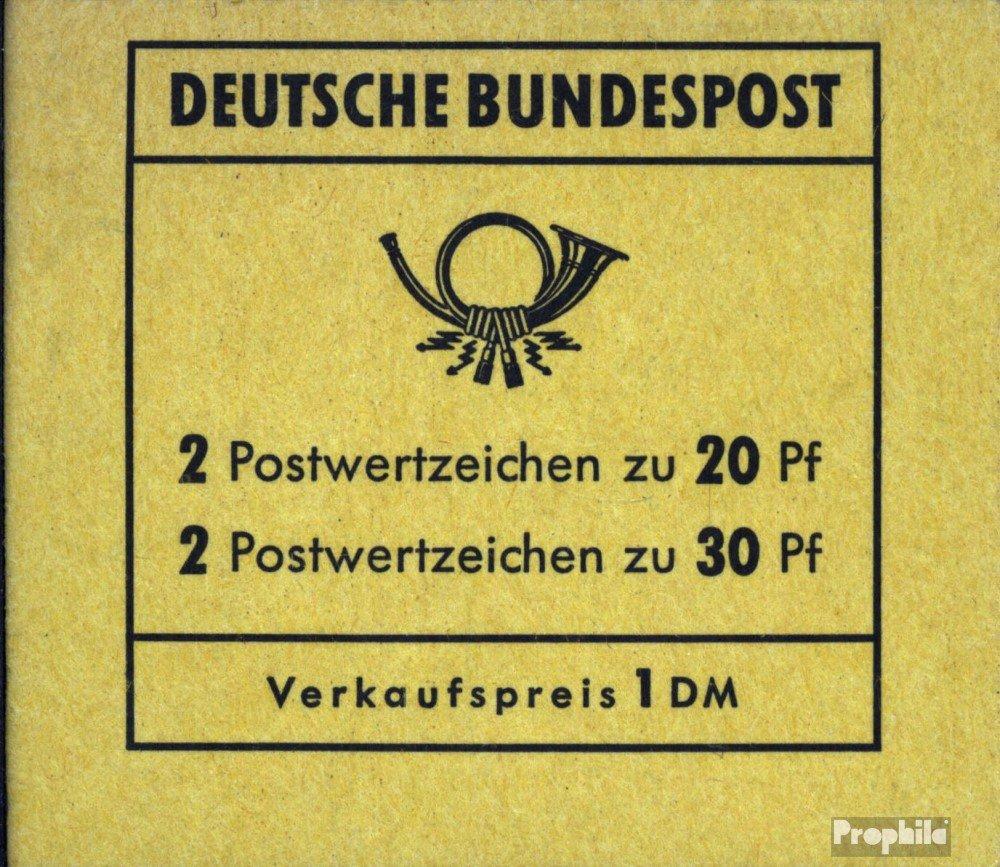 online barato Prophila sellos sellos sellos para coleccionistas: RFA (RFA.Alemania) MH14b (completa.edición.) nuevo con goma original 1968 Brandeburgo puerta  calidad auténtica