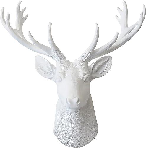 Near and Deer Deer Head Wall Mount