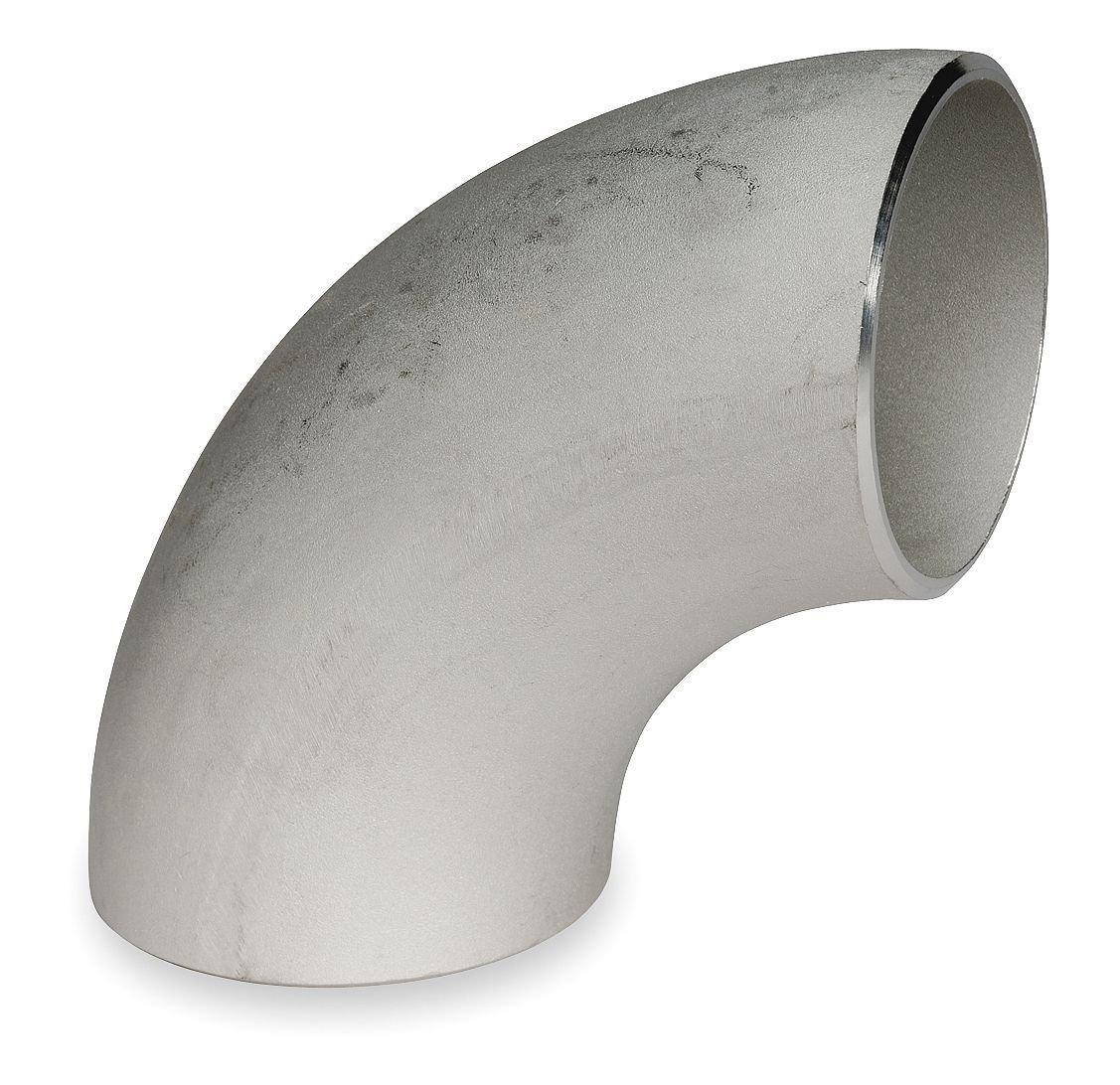 1 Butt Weld SS Long Radius 90 Degree Elbow Sch 10