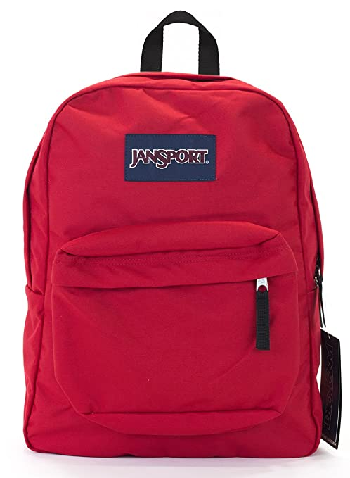 0161a07238a1 Amazon.com  Jansport Superbreak Backpack (Red Tape)  Sports   Outdoors