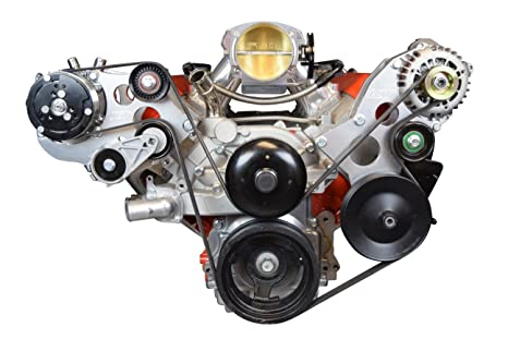 LS – Sanden 508 A/C Aire Acondicionado Compresor Kit de soporte LS1 LS3 LSX
