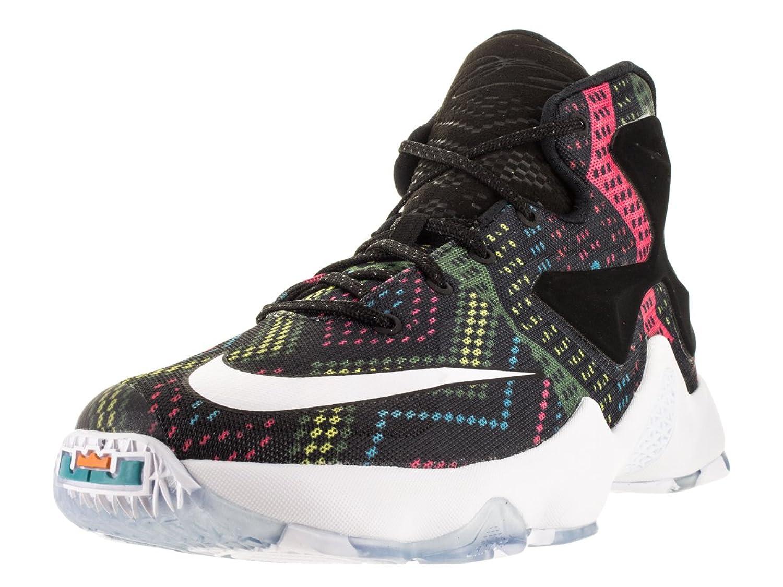 Amazon.com | Nike Kids Lebron XIII BHM (GS) Multi/Color/White/Omega Blue  Basketball Shoe 7 Kids US | Basketball
