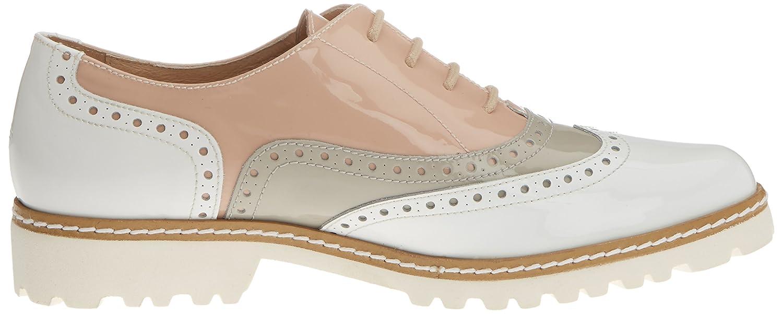Gadea Damen 40658 Oxford Schuhe Mehrfarbig Charol (Charol Blanco / Charol Mehrfarbig Grau Blanco/Grau) 2e0c3c