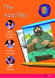 Bible Colour And Learn 19 The Apostles