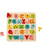 Hape Chunky Alphabet Wooden Puzzle Game, Multi, 5'' x 2''