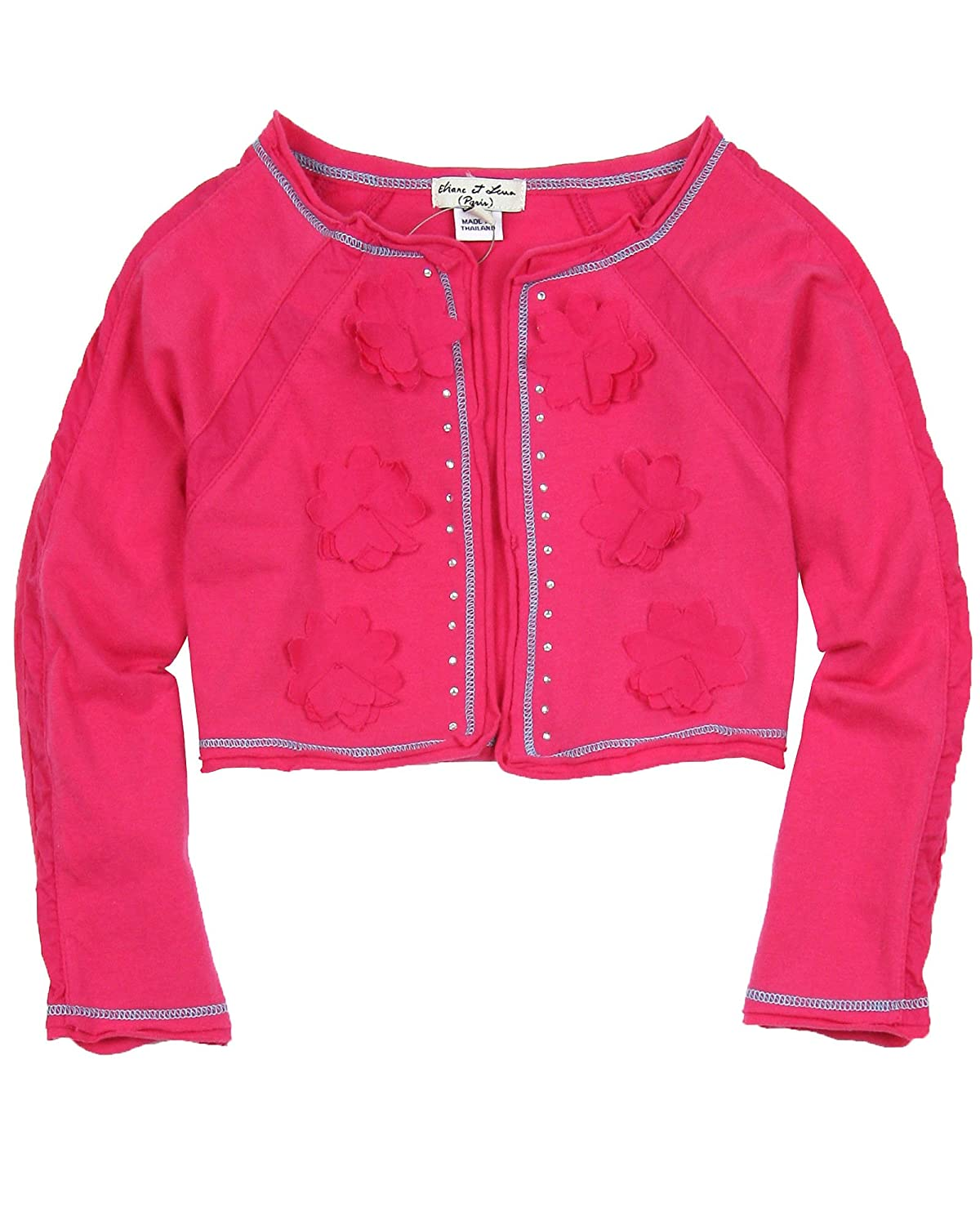 Sizes 4-14 Eliane et Lena Girls Jersey Bolero Portissol