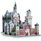 Wrebbit - 043044 - Puzzle 3D - Château De Neuschwanstein - 890 Pièces