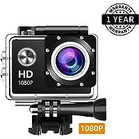 Zaptin 1080P Action Full HD Waterproof Underwater Camera