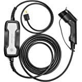 LEFANEV EV Charger Level 2 Cable (100-250V, 25FT) Portable EVSE Electric Vehicle Charging Station for All SAE J1772…