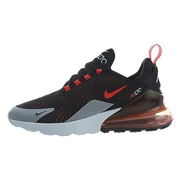 cd5d64c07237 Nike Air Max 270 - Black Bright Crimson-Hyper CRI, Größe 10  Amazon ...