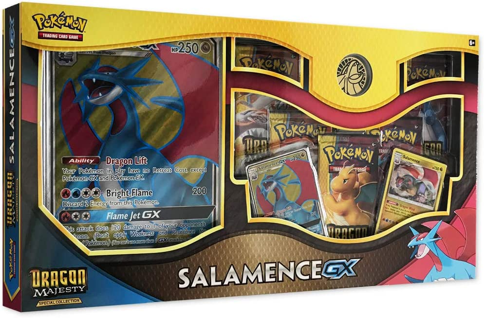 Pokemon TCG: Dragon Majesty Special Collection Salamence GX Box