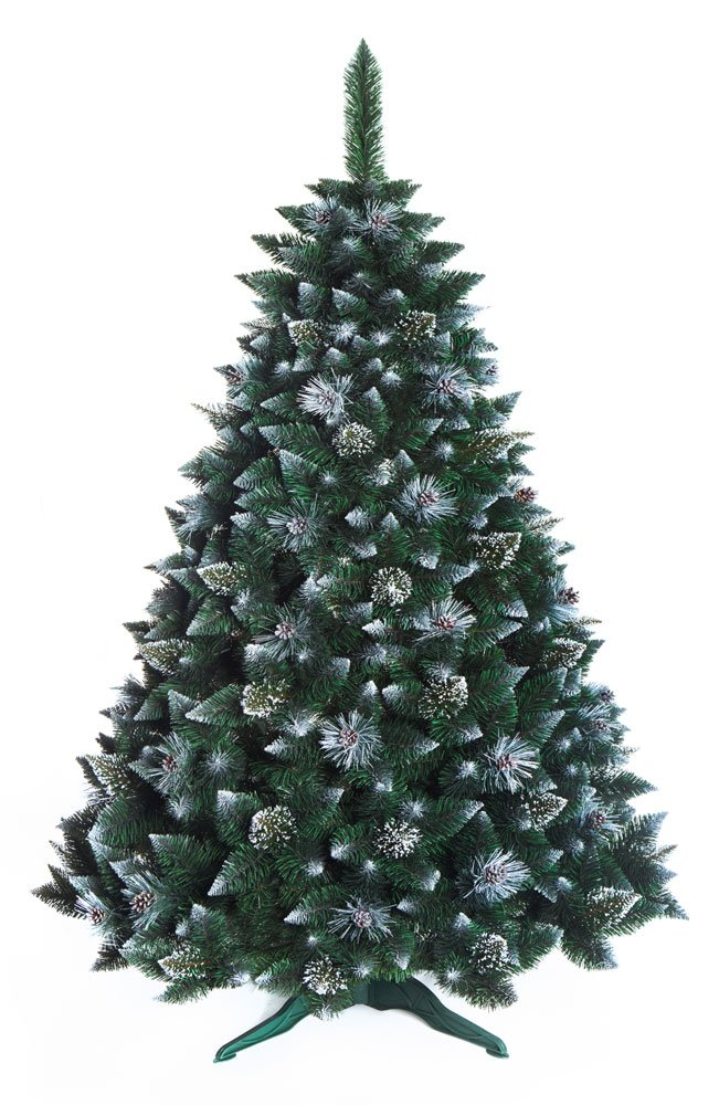 SNOW-COVERED PINE WITH CRYSTALS DWA CHRISTMAS TREE 6ft New Boxed Traditional Forest Green Luxury TREE 180cm