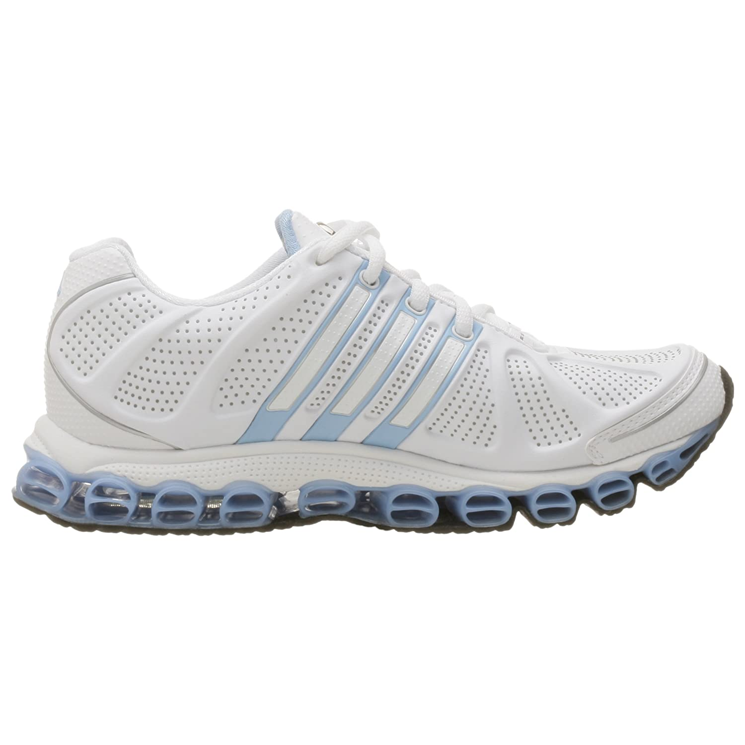 97db101a9eb5f Adidas Women's a3 Microride Synthetic Running Shoe, White/Lt Sky, 6 ...