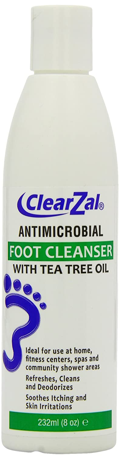 ClearZal Foot Cleanser with Tea Tree Oil 232 ml Hampton Brands Ltd CLZ1006