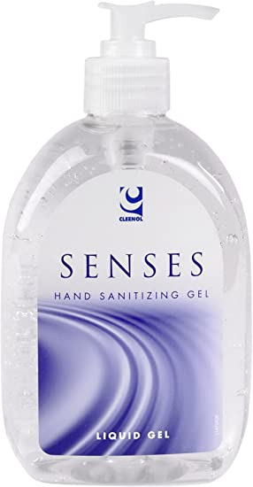 Cleenol 077063 Senses Hand Sanitizing Gel 500 Ml Amazon Co Uk