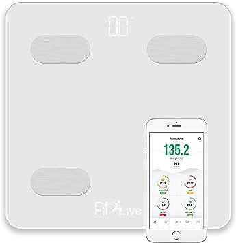 Amazon.com: Fit2Live - Báscula digital de grasa corporal con ...
