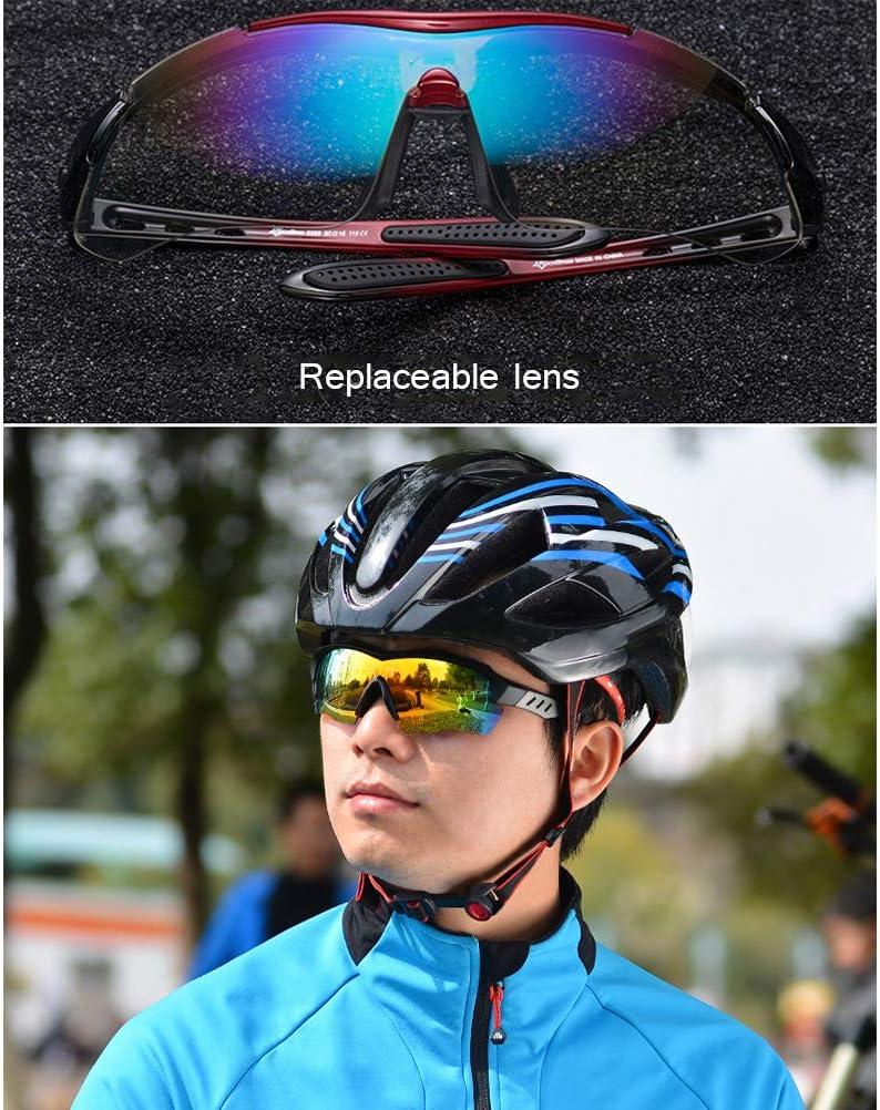 Deportivas Gafas de Sol Uv400 Gafas de equitaci/ón Gafas de Correr a pie EisEyen Bicicleta de monta/ña Carretera Gafas de Ciclismo polarizadas para Hombre
