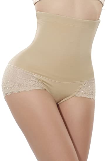 e1022eda71 LODAY Hi-Waist Shapewear Girdle Panty Postpartum Tummy Control Back Support Belly  Wrap at Amazon Women s Clothing store