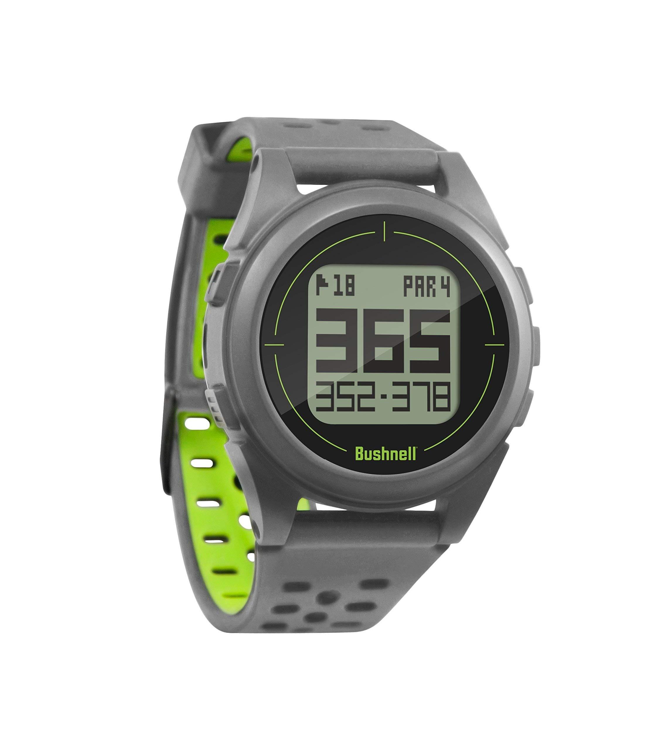 Bushnell Neo Ion 2 Golf GPS Watch, Silver/Green (Renewed)