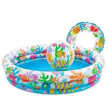 Intex - 3 Anillo Piscina Set (colorido peces/bajo el agua diseño a ...