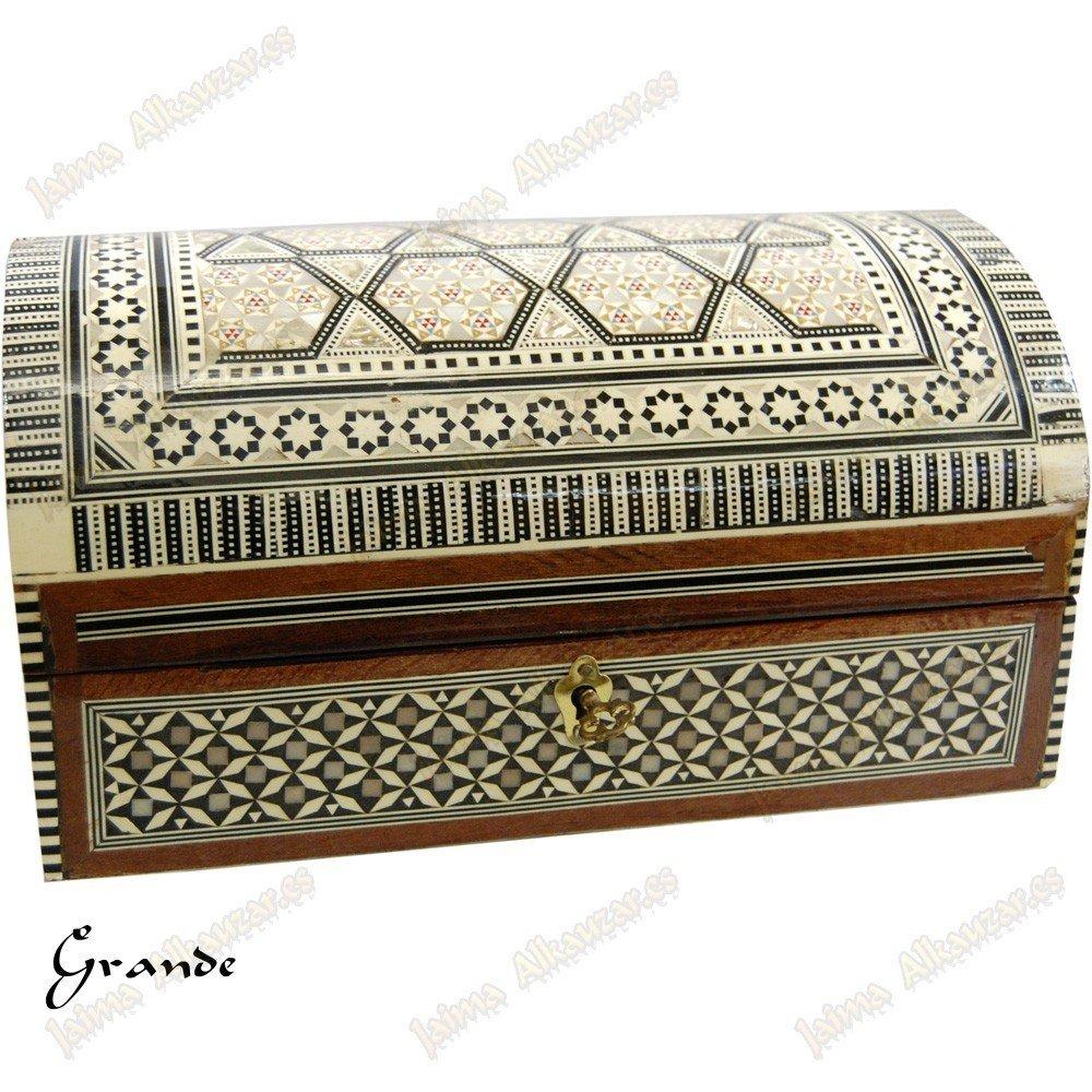 Caja de Regalo para maletero - Velvet - Marquetería Egipto - 2 tamaños - 3: Amazon.es: Hogar