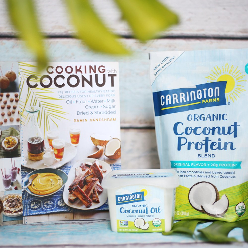 Carrington Farms Gluten Free, Unrefined, Cold Pressed, Virgin Organic Coconut Oil, 12 oz. (Ounce), Coconut Oil For Skin & Hair Care, Cooking, Baking, & Smoothies by Carrington Farms (Image #5)