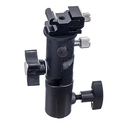 Soporte Profesional de luz giratoria para cámara de Fotos, Flash y ...