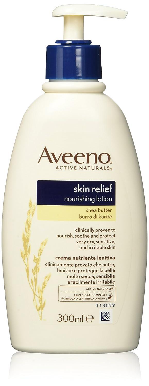 Aveeno Skin Relief Nourishing Lotion with Shea Butter 300ml Johnson & Johnson 7520000