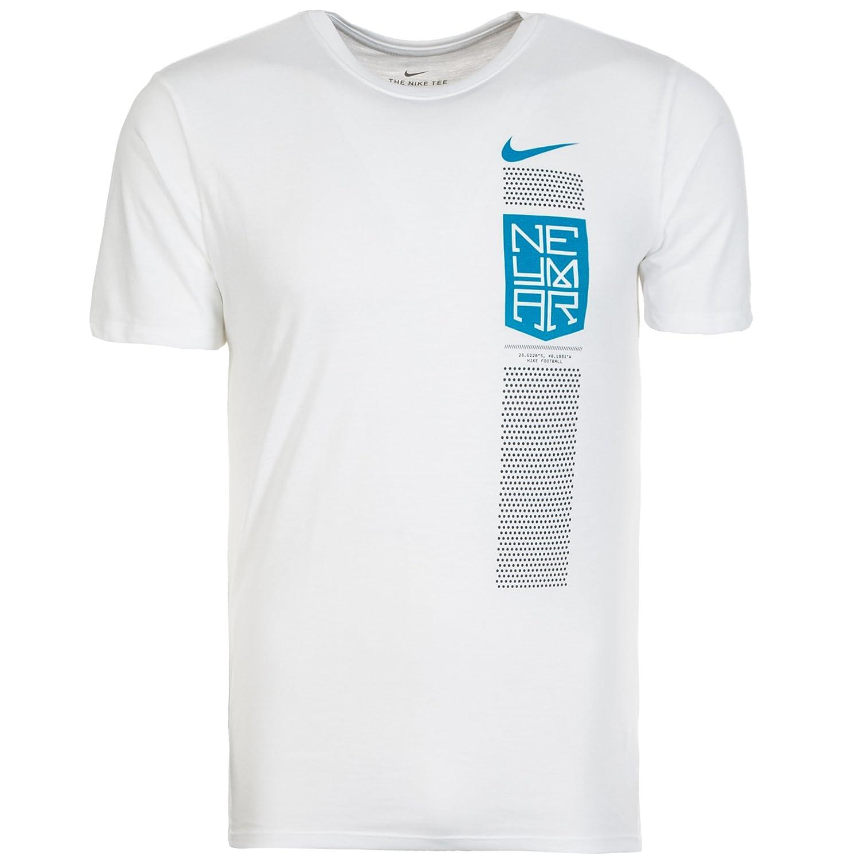 2017-2018 Neymar Nike Dry Tee (White) B073KVBB5Z
