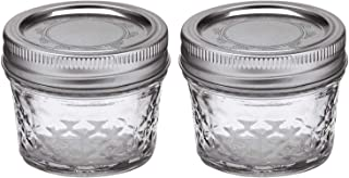 product image for Ball Mason 4oz Quilted Jelly Jars with Lids and Bands, Set of 2