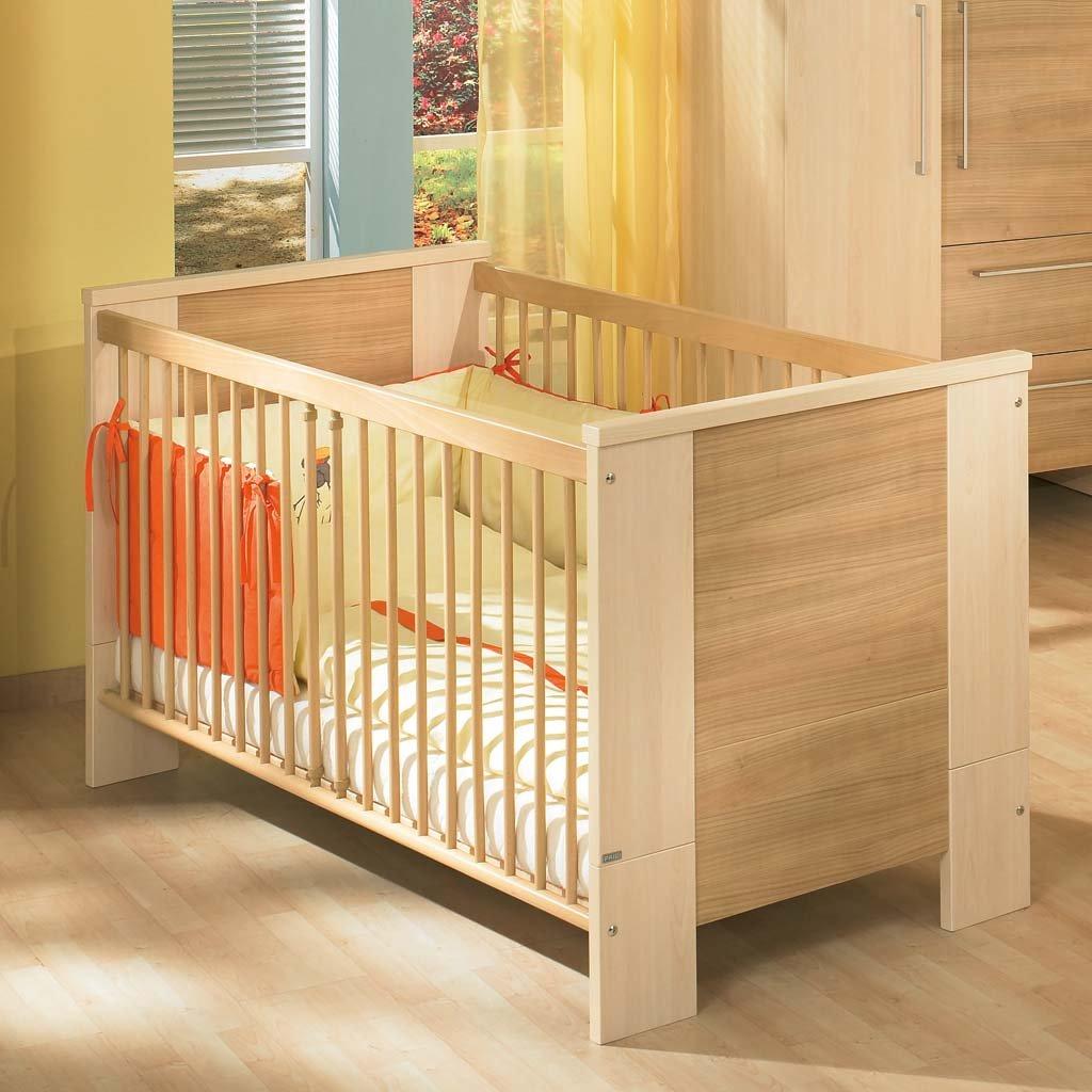 Paidi 1139146 Kinderbett Bruno mit Airwell Comfort Rost, 70 x 140 ...
