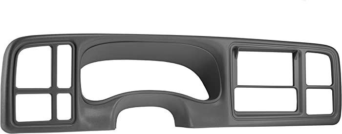 SCOSCHE GM5602DDGRB 1999 to 2002 Select Chevrolet Silverado, Suburban, Avalanche, Tahoe & GMC Sierra, Yukon/XL Double DIN Full Dash Panel - Gray