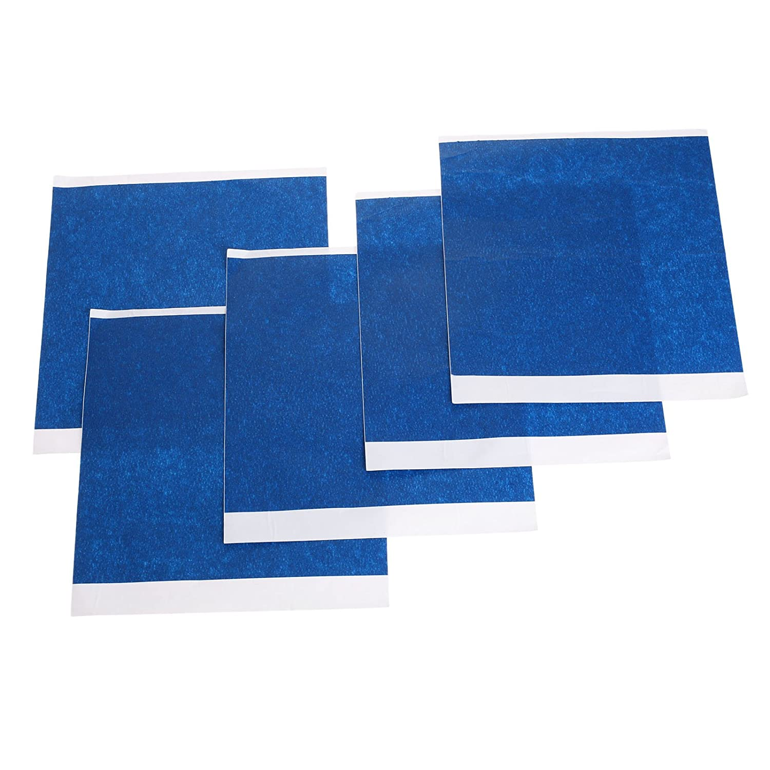 5pcs 200mm x 210mm 3D Printer Heated Bed Blue High Temperature Tape Rubber Adhesive MUXSAM