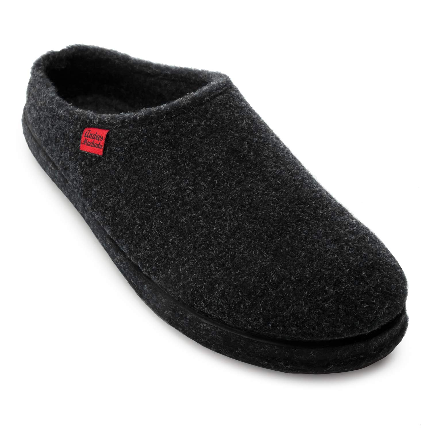 4f88ffc9ec29a8 Andres Machado AM001 Comfortable Felt Slippers with Footbed Made in Spain  Unisex - Small, Medium & Big Sizes: UK 0.5 to 14 / EU 32 to 50.