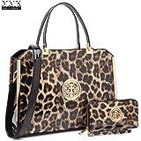 MMK Collection Fashion Classic Packlock Handbag for Lady(6892/6487) Signature fashion Designer Purse Handbag with spring colors~Perfect Women Satchel Purse~Beautiful Designer Purse