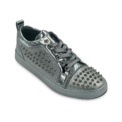 Amazon.com: Faranzi Spike Zapatos para Hombre, Zapatos de ...