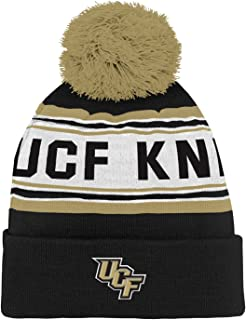 half off 960f7 3fc13 Outerstuff NCAA Boys Cuffed Knit with Pom Hat