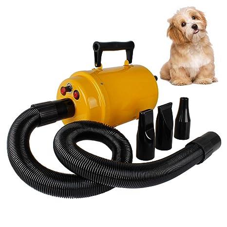 Miafamily Tienda de mascotas Profesional Eléctrico los Mascotas Secador Soplador Máquina de Alta Potencia Mute Secador